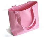 Little Girls Purse |  Little Girls Pink Tote Bag  | One of a Kind Child's Tote by Bags and Purses by Beth, $18.00 USD