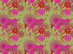 """""""NEON BIRDY"""" by clairyfairy. Bedding in organic cottons. Cushions in linens. Upholstery in heavy duty twill. Modern Moroccan, Floral Fabric, Organic Cotton, Upholstery, Cushions, Kids Rugs, Neon, Wallpaper, Linens"""
