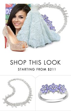"""""""Untitled #10036"""" by pocahaunted666 ❤ liked on Polyvore featuring Miadora, Oscar de la Renta and Christian Louboutin"""