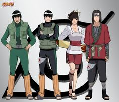 Team Guy by IGodsrealmI.deviantart.com on @deviantART Too bad neji died :(