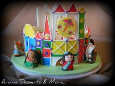 It's A Small World Cake