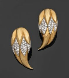 Saw these earrings today and thought they were stunning! Designed by Suzanne Belperron in the 50's