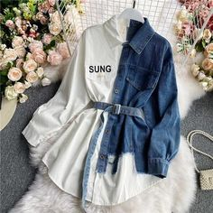 Girls Fashion Clothes, Teen Fashion Outfits, Look Fashion, Trendy Teen Fashion, Cute Skirt Outfits, Cute Casual Outfits, Top Jean, Jugend Mode Outfits, Korean Fashion Dress