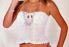 crochet top with revenue body cropped white women's fashion store dvd course learn crochet crochet