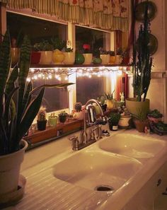 A whimsical way to light your kitchen. kitchen lighting ideas and design pictures, layout, ceiling, lowes, for small kitchen, fixtures, chandeliers, retro, track etc #lighting