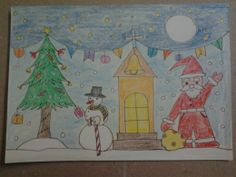 Very easy handmade greeting card for kids to make. Learn step by step.