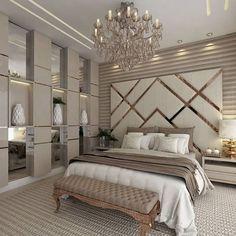 Modern Luxury Bedroom Designs - Home Design - Info Virals - New Fashion and Home Design around the World Modern Luxury Bedroom, Luxury Bedroom Design, Modern Master Bedroom, Bedroom Furniture Design, Master Bedroom Design, Luxurious Bedrooms, Home Decor Bedroom, Modern Interior Design, Bedroom Ideas