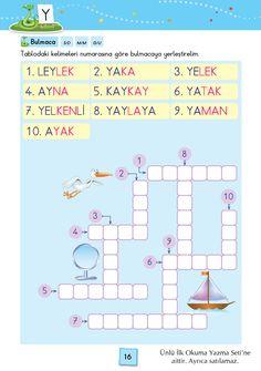 1. Sınıf Konu Anlatım SES FASİKÜLLERİ Action Verbs, Turkish Language, Math Multiplication, Reading Passages, Learn English, Booklet, Homework, Vinyl Records, Homeschool