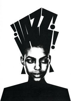Graphic Design Tips, Graphic Design Posters, Graphic Design Inspiration, Graphic Art, Zine, Ken Kaneki Tokyo Ghoul, Jazz Poster, Jazz Art, Decoration Plante