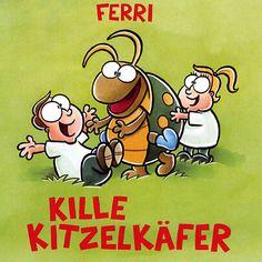 Kille Kitzelkäfer - Ferri - Kindermusikkaufhaus KIMUK.de - Kindermusik