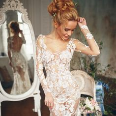Hey, just wanted to let you know, that each dress I will truly make by your personal measurements. I'm not asking your measurements to see whether a dress would fit you or not. Ml Tatiana 😍 Bridal Boudoir, Bridal Robes, Wedding Lingerie, Bridal Bra, Sexy Wedding Dresses, Bridal Dresses, Wedding Poses, Wedding Venues, Honeymoon Lingerie