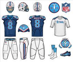 photo Tennessee Titans Home 2 Uniforms_zpsmibrdgll. Football Uniforms, Nfl Jerseys, Sports Drawings, Tennessee Titans, Sports Logo, New Outfits, Nfl Apparel, Soccer, Helmets