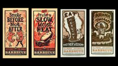 BBQ Branding on Pinterest | Bbq Sauces, Barbecue and Packaging