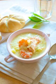 Receta de 'gazpachuelo de salmón' de Pepekitchen, para el blog 'A tu Gusto' de superSol. La mejor gastronomía :)
