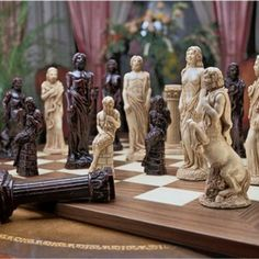 Greek Chess Pieces