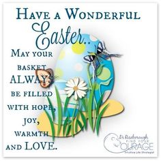 Have A Wonderful Easter May Your Basket Be Filled With Hope
