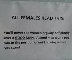Right! Good men