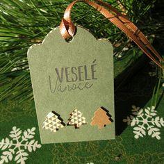Vánoční dárkové visačky 2 ks Christmas Ornaments, Holiday Decor, Home Decor, Decoration Home, Room Decor, Christmas Jewelry, Christmas Decorations, Home Interior Design, Christmas Decor