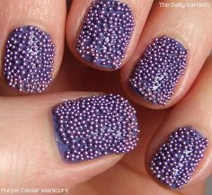 "how to give yourself a ""caviar manicure"" hell yes"