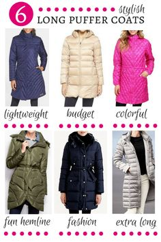 Winter is here and let's admit it, we're cold. These long puffer coats are a lifesaver in the winter and we've picked some of our favorites to share.