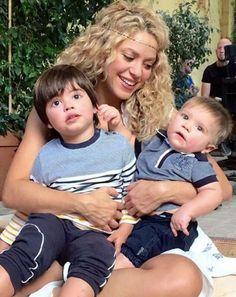 Shakira, Milan e Sasha