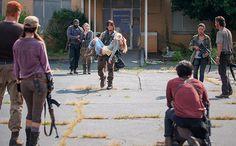 [SPOILER ALERT: Read on only if you have already watched Sunday's midseason finale of The Walking Dead.] It was an emotional midseason finale episode of 'The Walking Dead.'