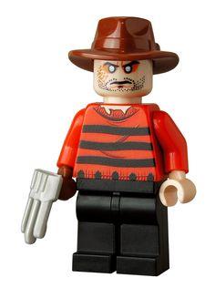 Freddy Krueger  Custom 2 Minifigure by customBRICKS on Etsy, $18.99