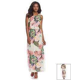 r m richards maxi dress summer