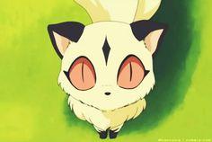 Kirara, a two-tailed cat-demon and Sango's companion - screenshot from InuYasha Inuyasha E Kagome, Inuyasha Love, Miroku, Kagome Higurashi, Kirara, Old Anime, Manga Anime, Me Me Me Anime, Anime Love