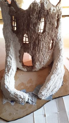 This is a seat of the pants job. I am using it to try out some developing techniques. Most of my Fairy Houses are woodland themed, and the...