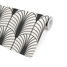 ARCHES BLACK & WHITE Peel and Stick Wallpaper By Becky Bailey - 2ft x 16ft