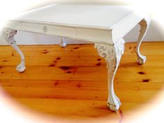 Shabby Chic Console / side/ entry way / sofa table by TwinsChic