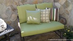 Sew Easy Outdoor Cushion Covers(Part 2)   Confessions of a Serial Do-it-Yourselfer