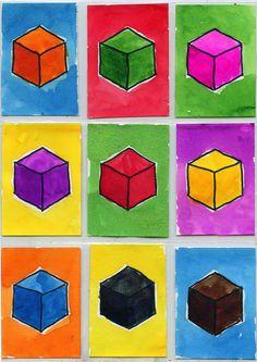 ATC Cubes – Art Proj