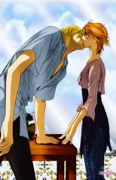 Kyoko and Corn. Skip Beat I really like that shirt!