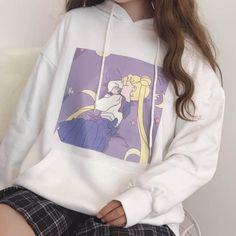 sleep sailor moon hoodie