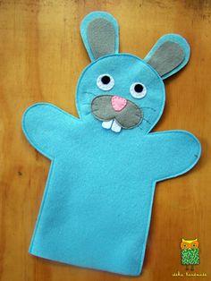 hand puppets Keeden El Kuklalar Hayvanlar - nce Okul ncesi Ekibi Forum Sitesi - Biz Bu i Biliyoruz Glove Puppets, Felt Puppets, Puppets For Kids, Felt Finger Puppets, Hand Puppets, Puppet Crafts, Felt Crafts, Crafts For Kids, Puppet Patterns
