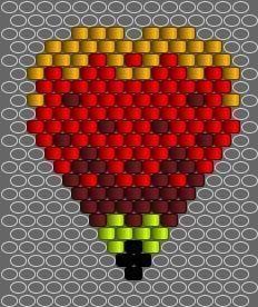 Beaded Flowers Patterns, Bead Crochet Patterns, Beading Patterns, Stitch Patterns, Seed Bead Flowers, Seed Beads, Beaded Earrings Native, Beaded Jewelry, Native American Patterns