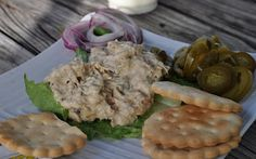 The best smoked fish dip from The Wharf Bar and Grill, Summerland Key, FL