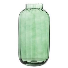 This amazing glass vase in a deep green tone lights up and decorates in any room - both with and without a beautiful bouquet of flowers, the vase is Vase Haut, Interior Styling, Interior Decorating, Grand Vase En Verre, Grands Vases, Beautiful Bouquet Of Flowers, Pretty Flowers, Vases Decor, Glass Table