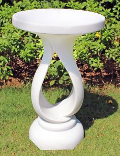 Grasmere Marble Resin Contemporary Garden Bird Bath. Buy Now At Http://www
