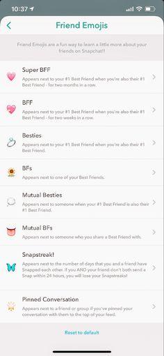Snapchat Streak Emojis, Noms Snapchat, Snapchat Best Friends, Snapchat Friend Emojis, Best Snapchat, Instagram And Snapchat, Snapchat Add, Snapchat Icon, Snapchat Selfies