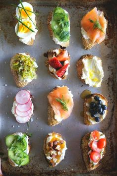 easy and delicious crostini for your next party