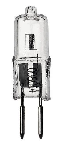 Hinkley Lighting 0050T4 T4 Halogen Bi-Pin Light Bulb 50 Watt, Bright White by Hinkley. $8.76. From the Manufacturer                50 watt T4 Halogen light bulb delivers bright and crisp white light producing exceptional lighting results                                    Product Description                Hinkley Lighting 0050T4 Landscape Landscape Lamp Voltage: 12 Lamps. Save 17%!
