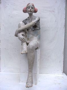 Keramik Doris Althaus, figurative ceramic sculpture