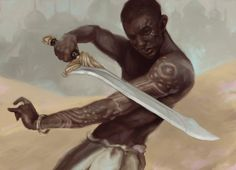 Men of Color In Fantasy Art