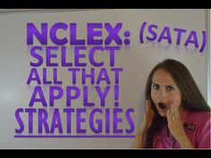 How to break down NCLEX Select All That Apply Questions (Part 2) - YouTube