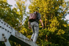 All Leather Ruck Sack in Rich Tan finally making a comeback! – Loyal Stricklin