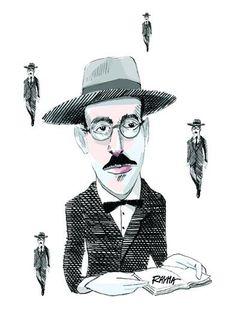 Fernando Pessoa by Rayma