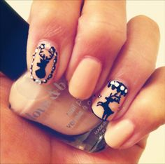 Świąteczne wzorki na paznokcie - śliczne! - Blog Modowy Blond - moda, uroda, inspiracje blondynki - BlondeMe.pl